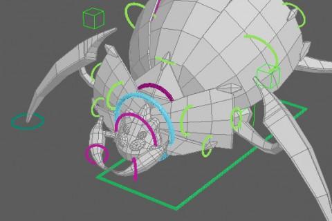 Herberus – Animation WIP